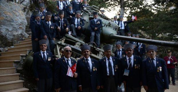 Kıbrıs gazisi 43 yıl sonra aynı heyecanı yaşadı