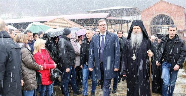 Sırbistan Cumhurbaşkanı Vucic: Daimi barış ve güvenliği sağlama yönünde her şeyi yapacağız