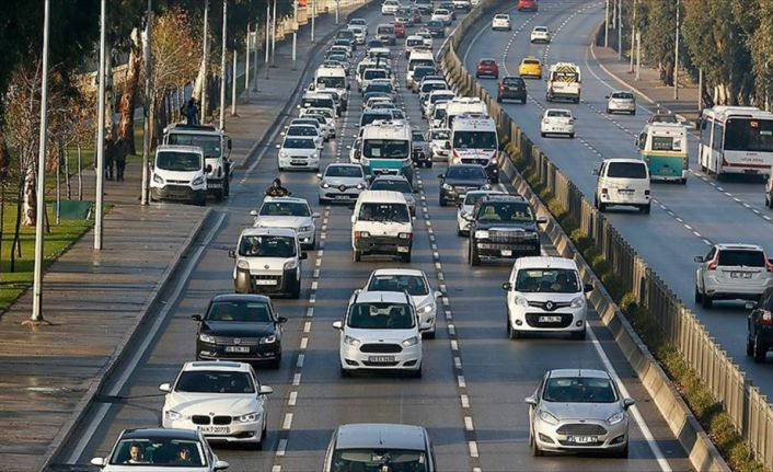 46,6 milyon araç sorgusu internetten yapıldı