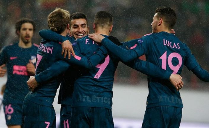 Avrupa Ligi'nde ilk çeyrek finalist Atletico Madrid