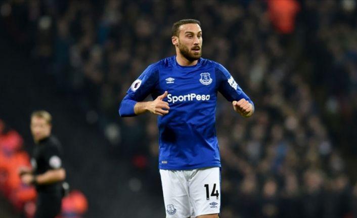 Everton'a 3 puanı Cenk Tosun getirdi