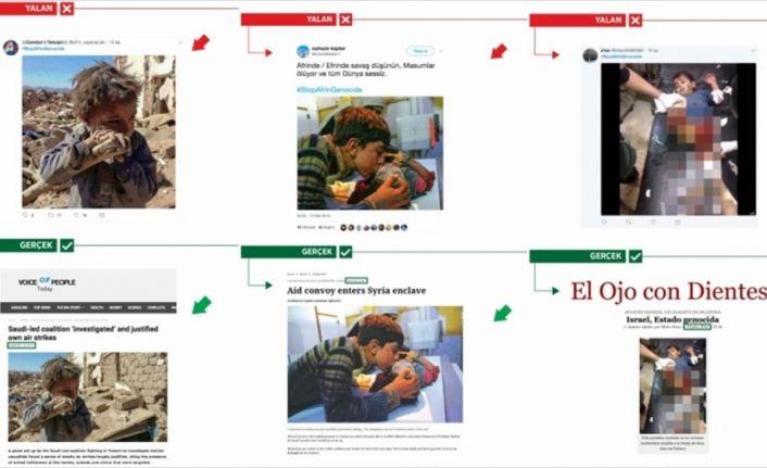 PYD/PKK destekçileri, Afrin yalanlarına yine çocukları alet etti