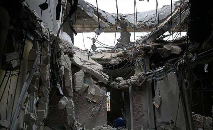 Teröristler terk ettikleri binalara patlayıcı tuzaklamış
