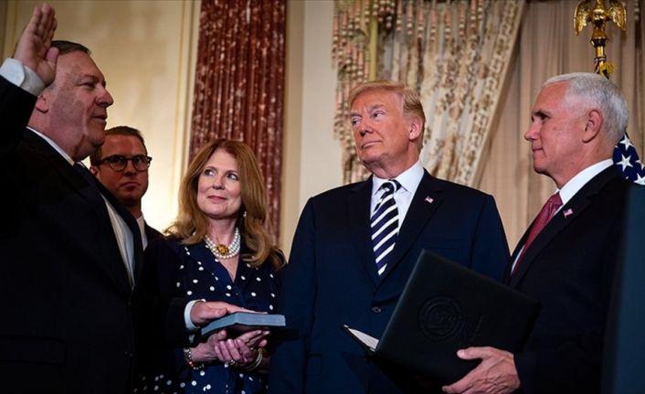 ABD'nin yeni Dışişleri Bakanı Pompeo yemin etti