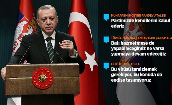 Erdoğan'dan İnce'nin randevu talebine yanıt