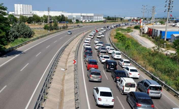 Ankara'da yol çalışmalarına bayram arası