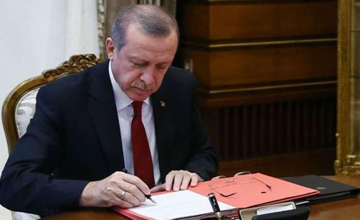 Cumhurbaşkanı Erdoğan 8 üniversiteye rektör atadı