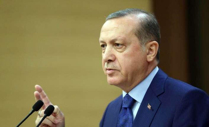 Erdoğan'dan jandarmanın kuruluş yıl dönümü mesajı