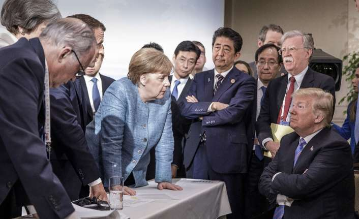 Trump, G7 zirvesine damgasını vurdu