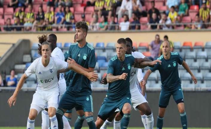 Fenerbahçe'ye hazırlık maçında mağlubiyet