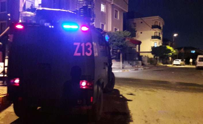 Sancaktepe'de iki aile kavgası sonrası ortalık karıştı