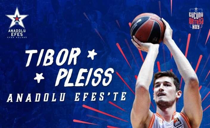 Anadolu Efes Tibor Pleiss ile anlaştı