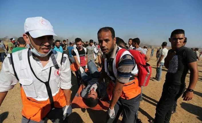 Gazze'de 2 Filistinli şehit oldu, 270 kişi yaralandı