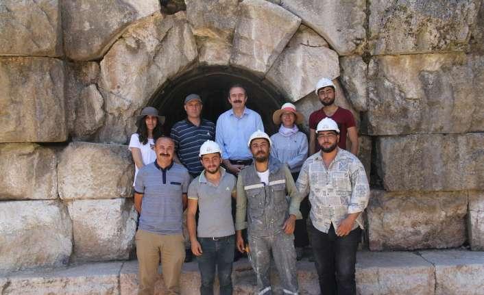 Roma barajında kazılar yeniden başladı