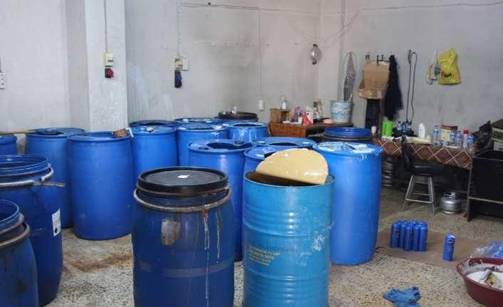 Şampuan ve deterjan ürünlerini taklit edenlere operasyon