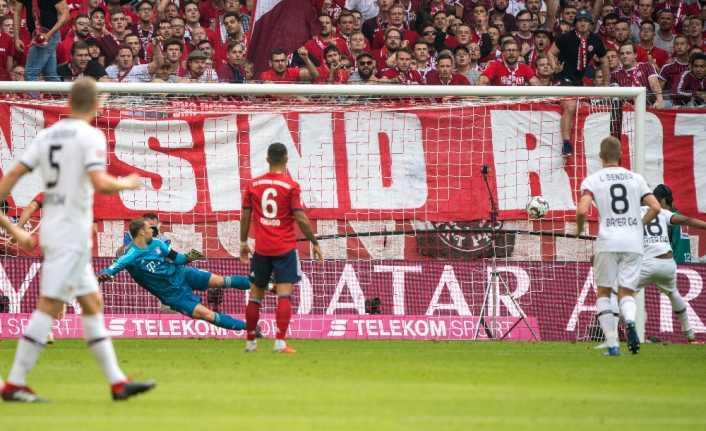 Bayern Münih evinde Bayer Luverkusen'i 3-1 ile geçti