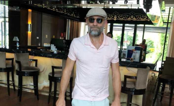 Fransız aktör Vincent Cassel Türkiye'ye geldi