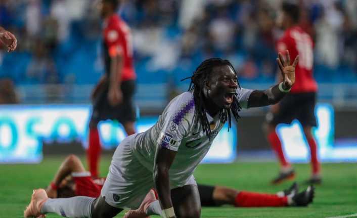 Gomis Arabistan'da ilk golünü attı