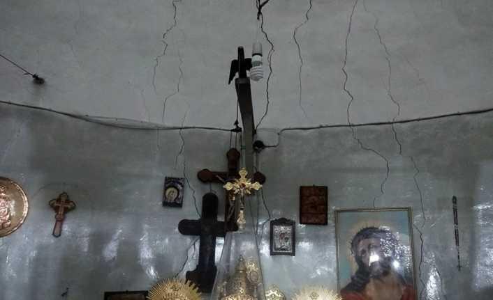 Maria Ana Kilisesi restore ediliyor
