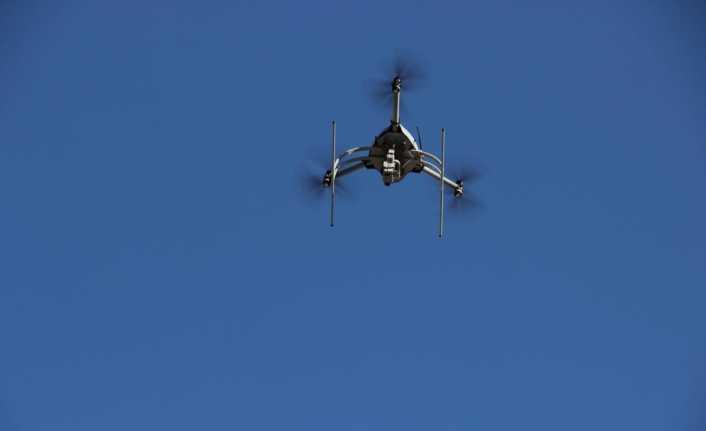 Polis, 'drone' ile sürücülere ceza yazdı