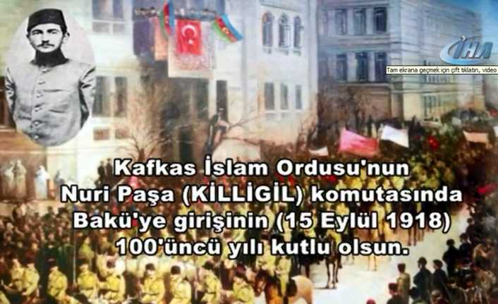 TSK'dan Azerbaycan'ın kurtuluş günü klibi