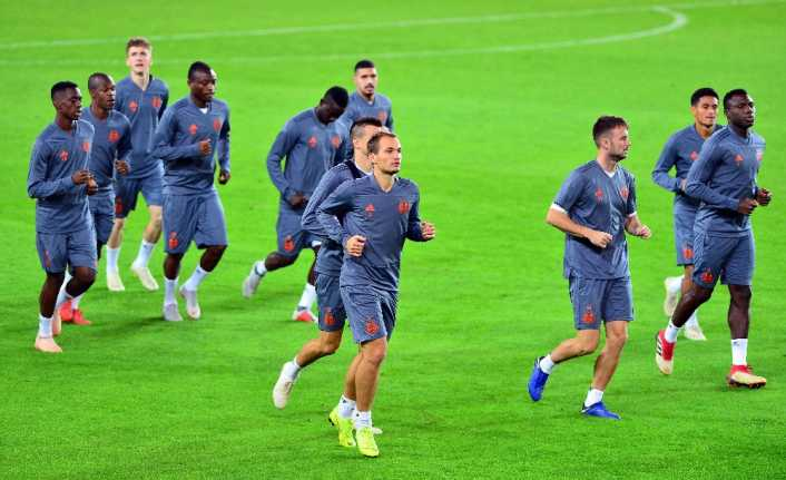 Anderlecht'te F.Bahçe maçı hazırlıkları tamam