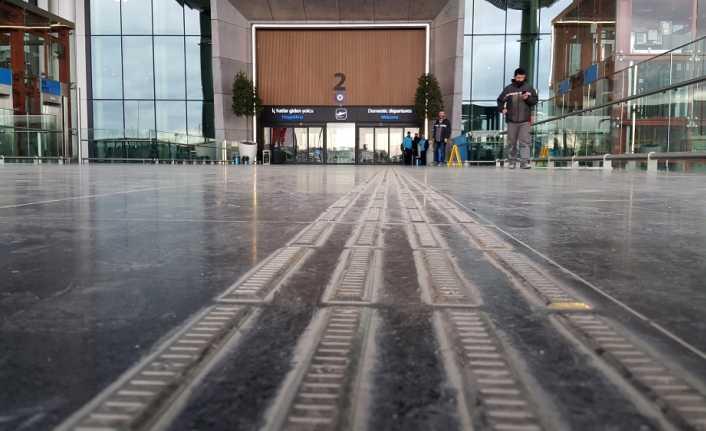 İstanbul'un engelsiz havalimanı
