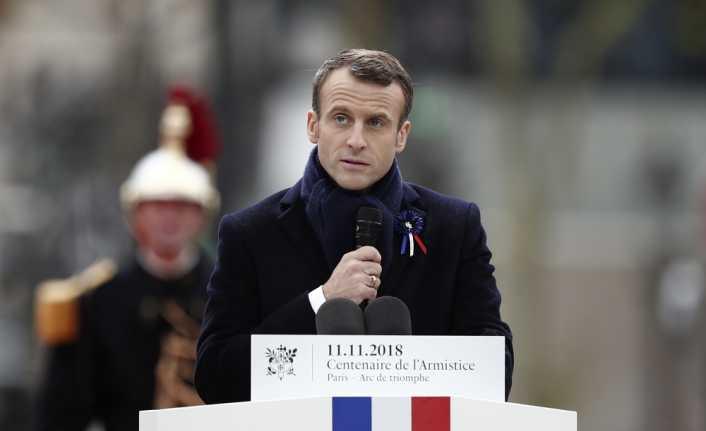 Macron'dan 'barış' vurgusu