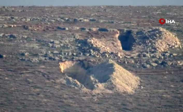 PYD'liler mezarlarını kazmaya devam ediyor