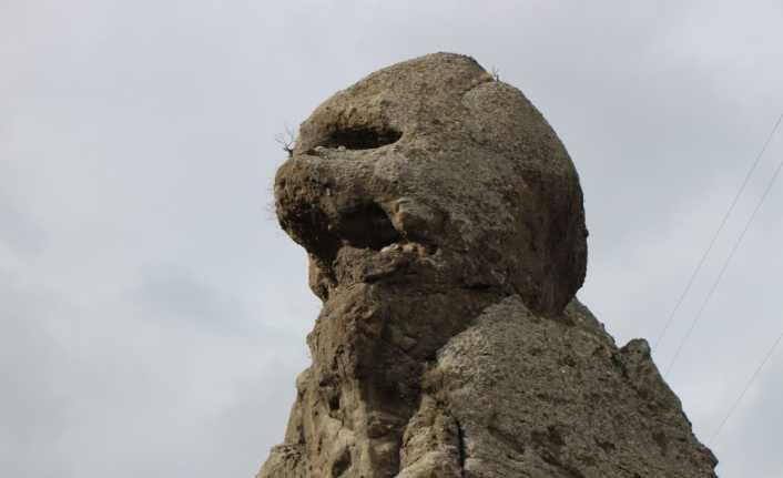 'Canavar kaya' görenleri şaşırtıyor