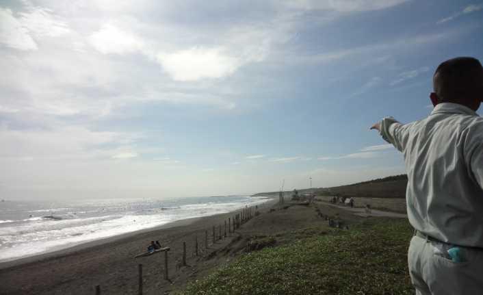Japonya'nın plajları kaybolabilir