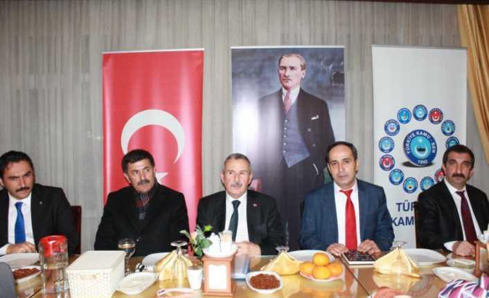 Türk Büro Sen Genel Başkanı Osman Eksert: İlkemiz önce ülkemiz