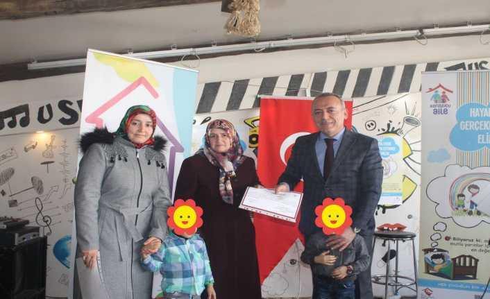 49 koruyucu aileye sertifika