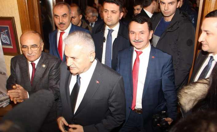Binali Yıldırım, Hemşerileriyle İstanbul'da Buluştu