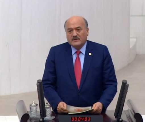Karaman Meclis kürsüsünden kurtuluşu anlattı