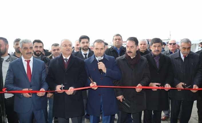 Taşıyıcılar Kooperatifinin Tır Parkı açıldı