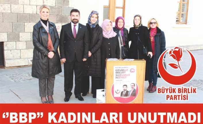 BBP Kadınlar gününü kutladı
