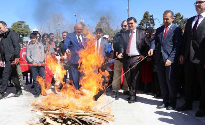 Erzincan'da Nevruz coşkuyla kutlandı