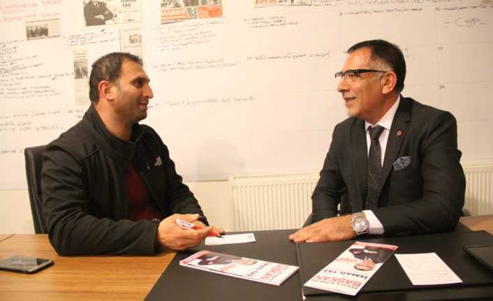 İsmail Taş:  Erzincan'da Seçim CHP ile AK Parti arasındadır