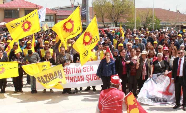 Erzincan'da 1 Mayıs Coşkuyla Kutlandı