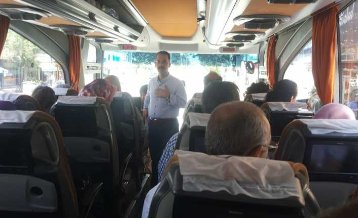 37 otobüs oy kullanmak için İstanbul'a uğurlandı