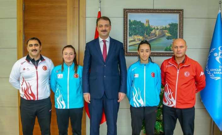 Avrupa Oyunlarında Erzincan'ı temsil ediyorlar