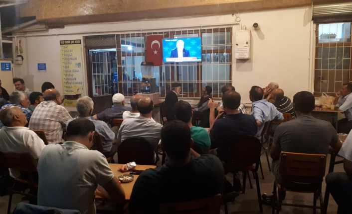 Canlı yayın Erzincan'da ilgiyle izlendi