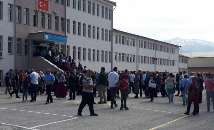 Erzincan'da LGS heyecanı yaşandı