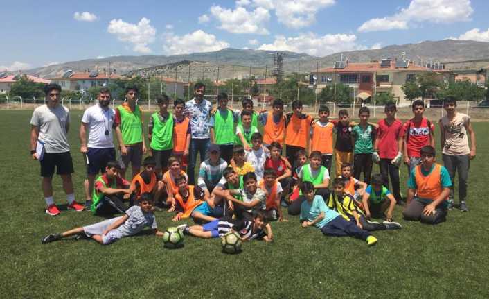 Erzincan'da geleceğin yıldızları seçildi