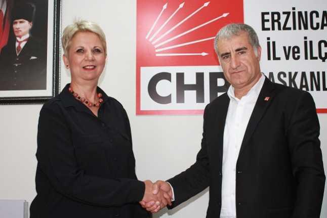 Nilgün Türk CHP'ye Katıldı