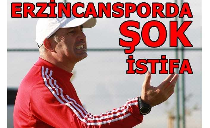 Erzincanspor'da istifa