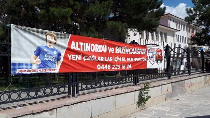 Sahipsiz Erzincan'ın sahipsiz pankartı