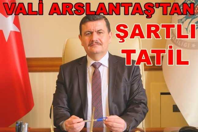 Erzincan'da okullar 1 gün tatil edildi