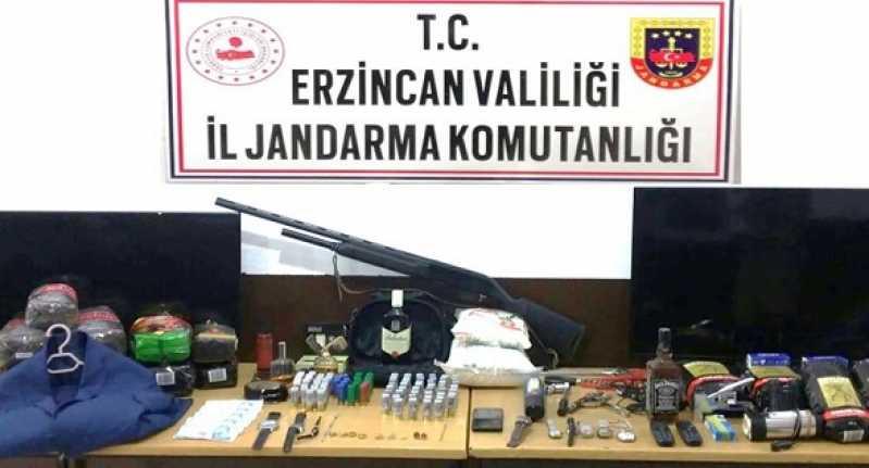 Erzincan'da Hırsızlık Olaylarına Karışan 3 Şüpheli Şahıs Yakalandı